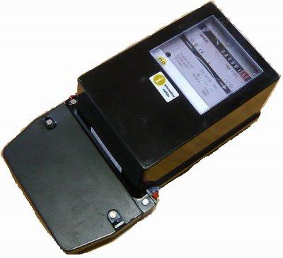 Elektromer 3f 40A - 2 tarif ETD černý