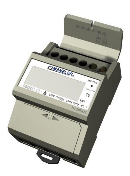 Elektromer 1f 10-60A 1tar na DIN 9902D 4